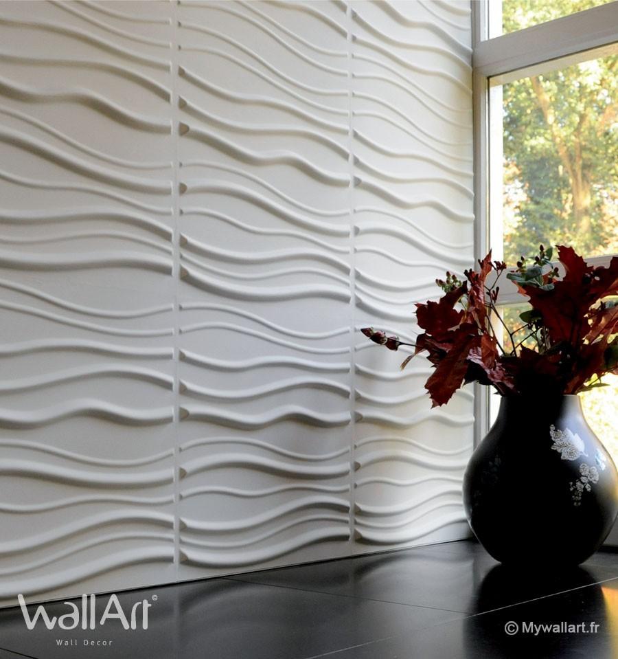 Rev tement mural panneaux muraux 3d sands for Revetement mural 3d