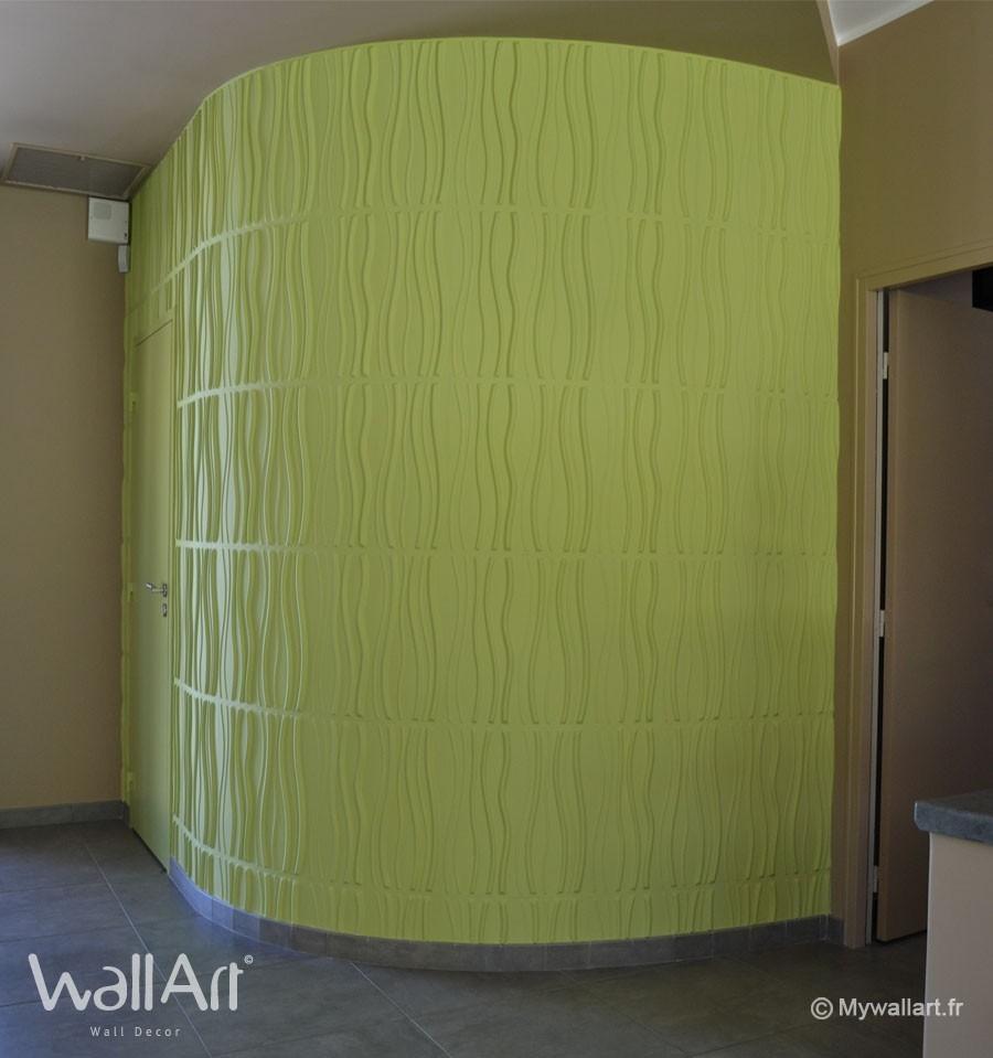 Quelle Peinture Utiliser Pour Le Bois : Pics Photos  Panneaux D Habillage Mural Neuholz 6m