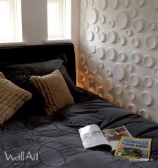 Panneau mural 3D Craters