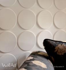 Panneau mural 3D Ellipses