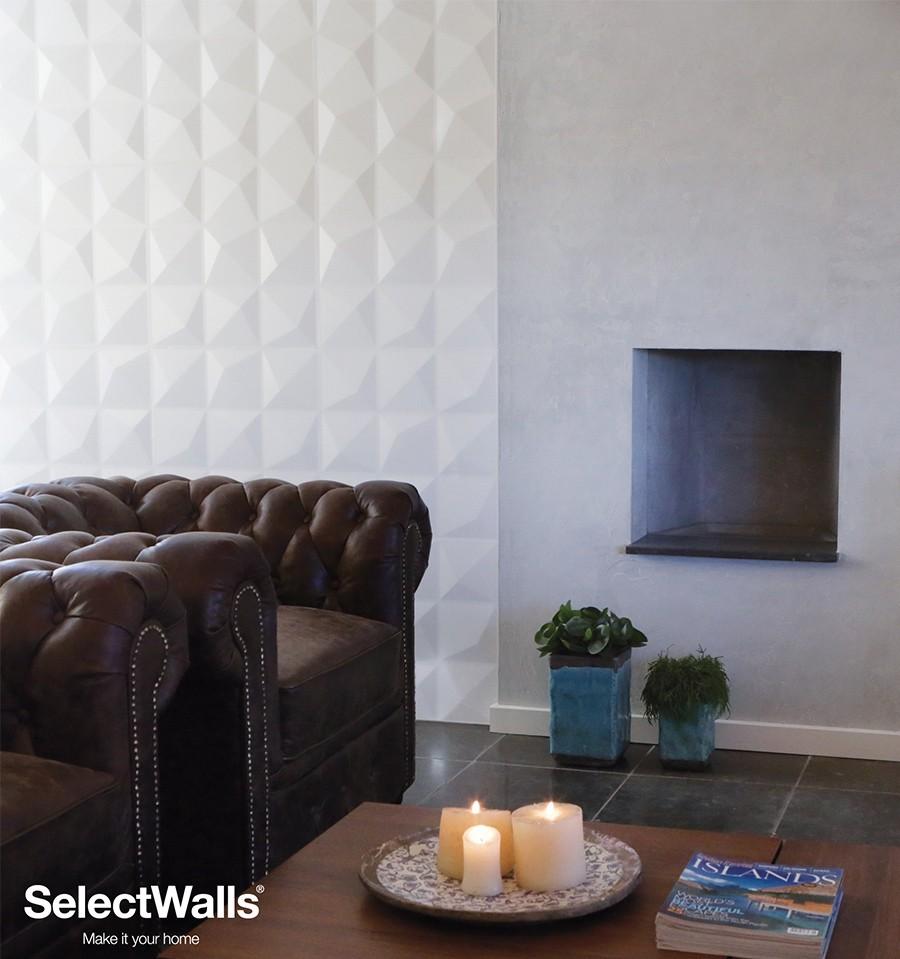 panneau bois mdf 3d lucy panneaux muraux 3d selectwalls. Black Bedroom Furniture Sets. Home Design Ideas