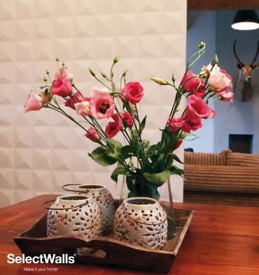 Parement bois mdf 3d Lucy SelectWalls 2,5m²