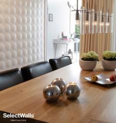 Parement bois mdf 3d Cloe SelectWalls 2,5m²