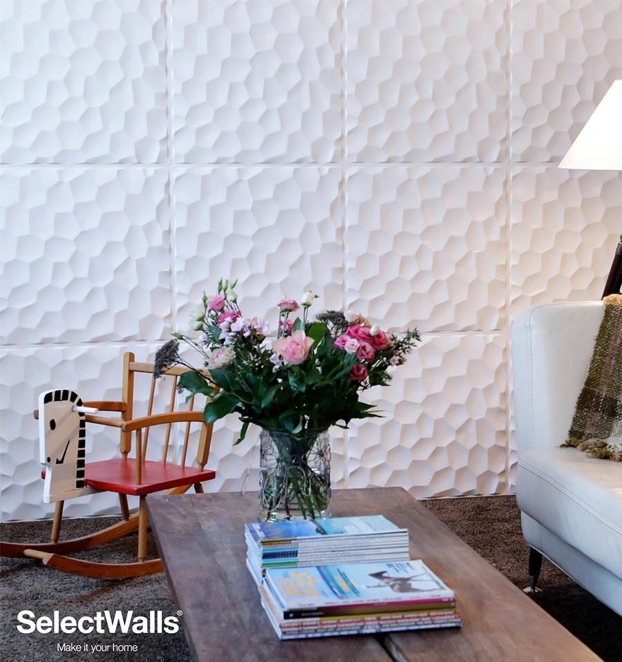 parement bois mdf 3d jess panneaux bois 3d selectwalls. Black Bedroom Furniture Sets. Home Design Ideas