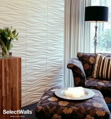 Parement bois mdf 3d Jade SelectWalls 2,5m²