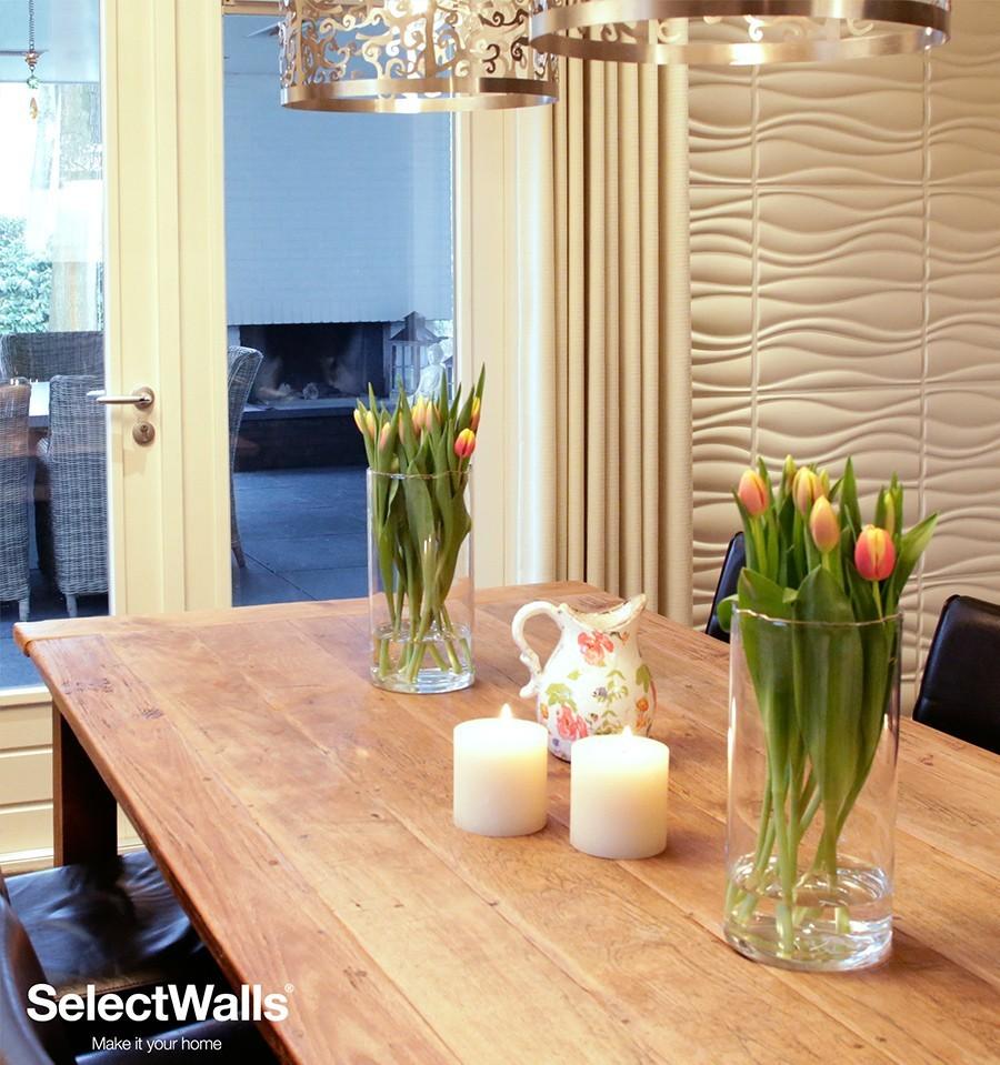 parement bois mdf 3d jade parement mural 3d selectwalls. Black Bedroom Furniture Sets. Home Design Ideas