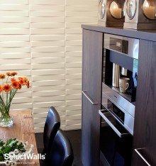 Parement bois mdf 3d Finn SelectWalls 2,5m²