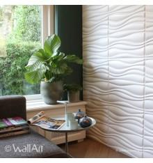 Panneau mural 3D Waves 2 WallArt 3m²