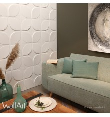 Panneau mural 3D Sweeps WallArt 3m²