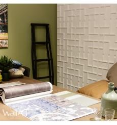 Panneau mural 3D Tetris WallArt 3m²