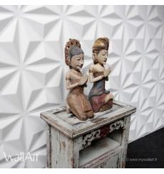 Panneau mural 3D Cullinans WallArt 3m²