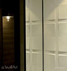 Panneau mural 3D Pitches WallArt 3m²