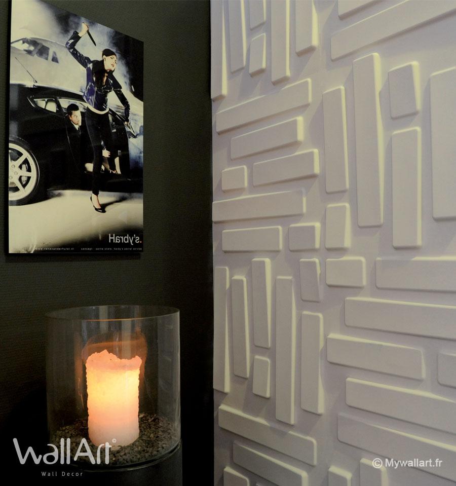 les panneaux muraux 3d wallart dans the voice panneaux muraux 3d wallart. Black Bedroom Furniture Sets. Home Design Ideas