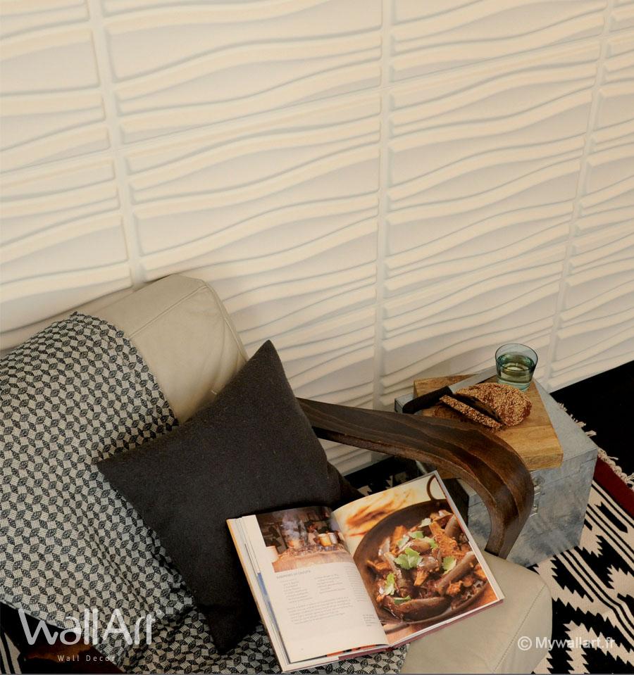 revetement mural flows panneaux muraux 3d wallart panneaux muraux 3d wallart. Black Bedroom Furniture Sets. Home Design Ideas