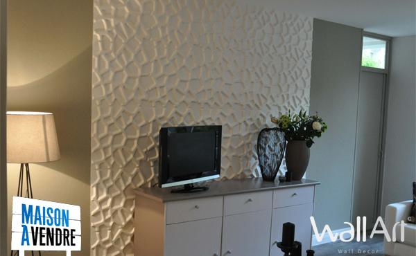 panneau mural 3d panneaux muraux 3d wallart. Black Bedroom Furniture Sets. Home Design Ideas