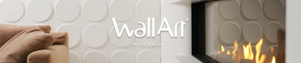 panneau mural 3d wallart parement mural en relief en. Black Bedroom Furniture Sets. Home Design Ideas