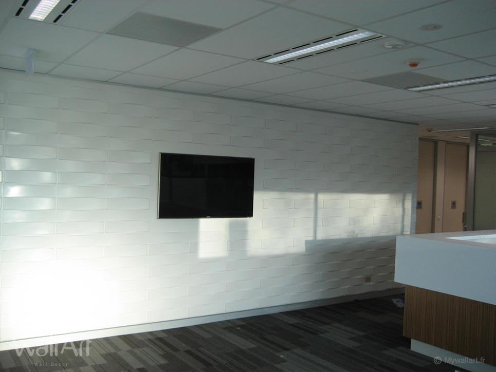 Panneaux muraux 3d vaults panneau mural en relief - Panneau d habillage mural ...