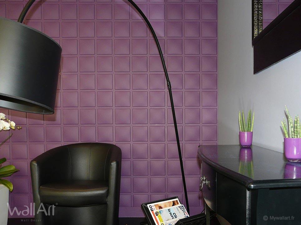revetement mural en relief panneau mural 3d. Black Bedroom Furniture Sets. Home Design Ideas