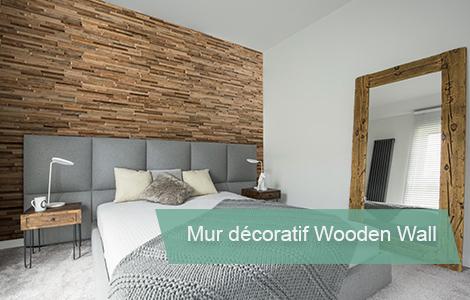 Mur en bois Wooden