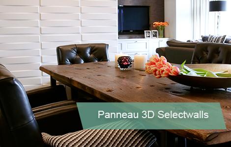 Panneau 3d decoratif selectwalls