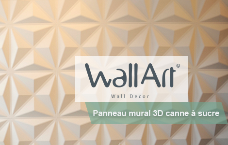 Panneau 3d WallArt