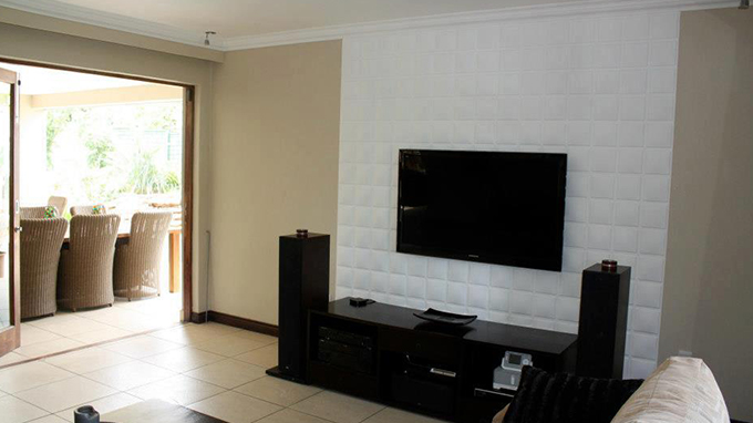 id e deco salon moderne r aliser un mur television 3d 3d wallart