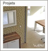 Projets dalle murale 3d
