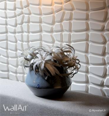 Panneau mural 3D Dundees WallArt 3m²