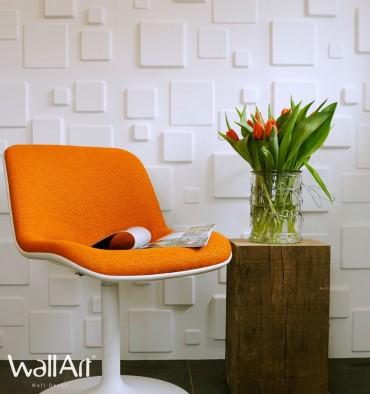 Panneau mural 3D Squares WallArt 3m²