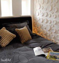 Panneau mural 3D Craters WallArt 3m²