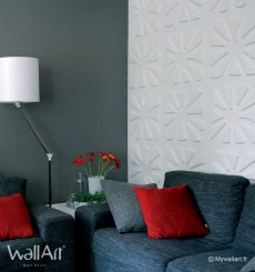 Panneau mural 3D Caryotas WallArt 3m²