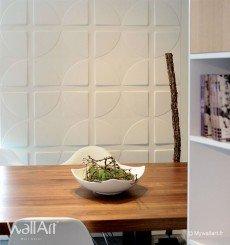 Panneau mural 3D Pitches 2 WallArt 3m²