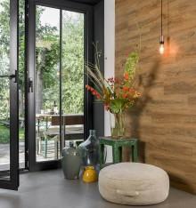 Lambris PVC Bois Chêne Vieilli WallArt 2,09m²