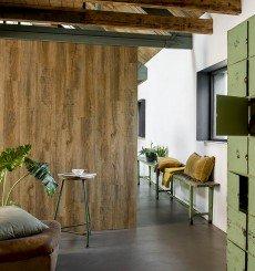 Lambris PVC Bois Chêne Nature WallArt 2,09m²