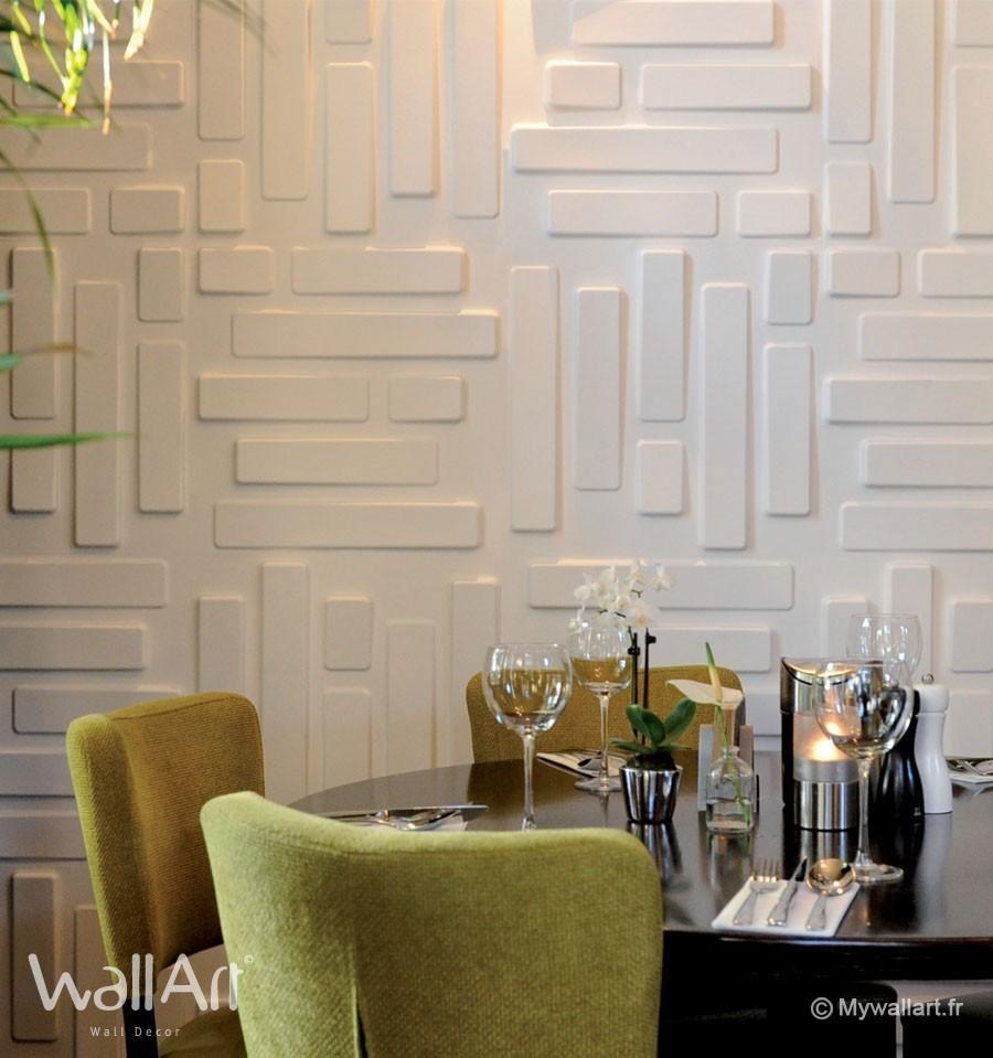 Revêtement Mural : Panneaux Muraux 3D Bricks