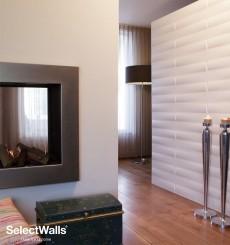 Parement bois mdf 3d Zita SelectWalls 2,5m²