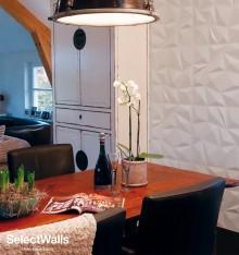 Parement bois mdf 3d Gigi SelectWalls 2,5m²