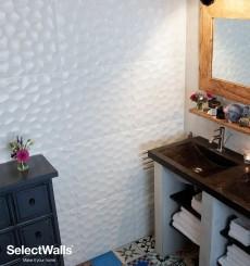 Parement bois mdf 3d Jess SelectWalls 2,5m²