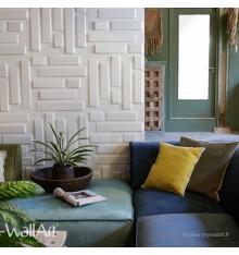 Panneau mural 3D Bricks WallArt 3m²