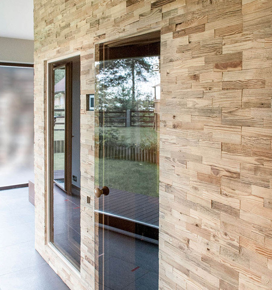 Habiller Un Poteau Interieur panneaux muraux bois opus wooden wall