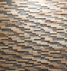 Panneaux mural bois Bravo Wooden Wall