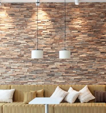 Panneau mural bois Allias Wooden Wall
