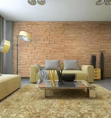 Panneaux muraux bois massif Fractus