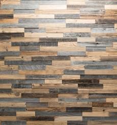 Panneau mural bois recyclé Largo