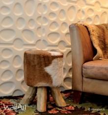 Panneau mural 3D Pebbles WallArt 3m²