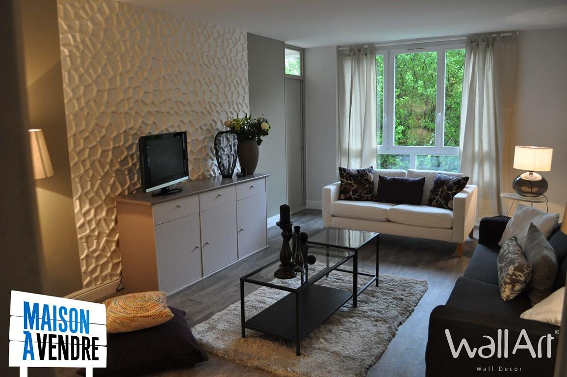 Les panneaux muraux 15D dans Maison à Vendre M15 ! -