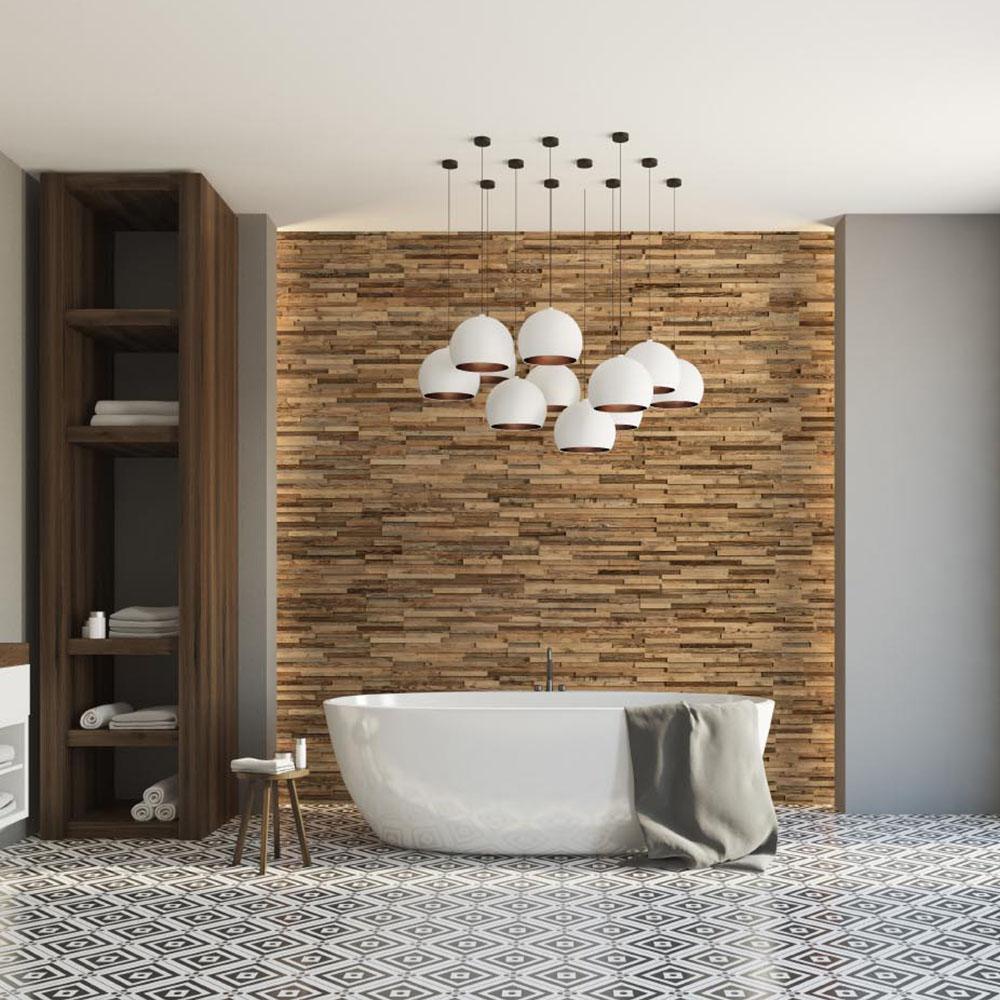 Idée Deco  Créer un Mur en Bois pour Décorer son Salon !