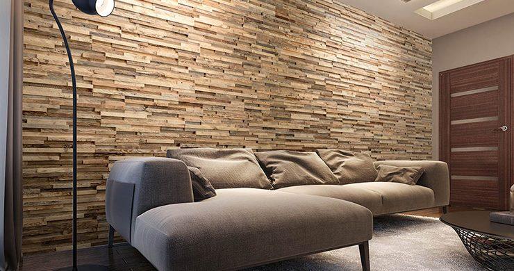 Idée Deco : Comment créer un salon moderne avec un parement ...