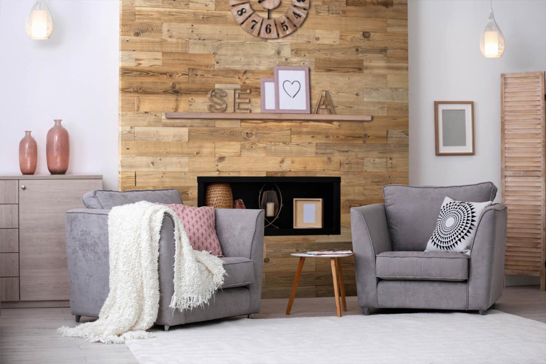 Habiller un mur avec du bois