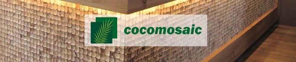 COCOMOSAIC – Revêtement mural naturel en noix de coco